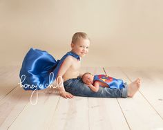 Big & Little Brother Superhero Outfit Set  by littlehbigstyle, $100.00