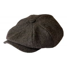 Buy  Shelby  newsboy Grey Herringbone Cap - C611RZU1CA1 and Many Other  Latest Designer Hats d2fdd27cfea3