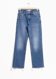 & Other Stories | Raw Edge Denim Jeans