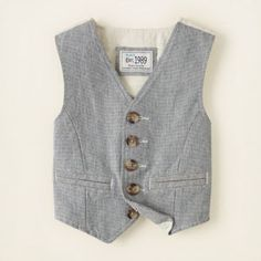 boy - outfits - cool 'n classic - oxford vest | Children's Clothing | Kids Clothes | The Children's Place
