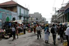 Hillside Slum Area In PortauPrince Haiti UN PhotoSophia Paris - Paris port au prince