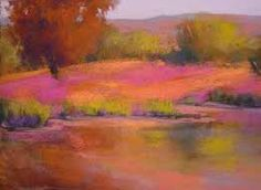 pastel landscapes - Google Search