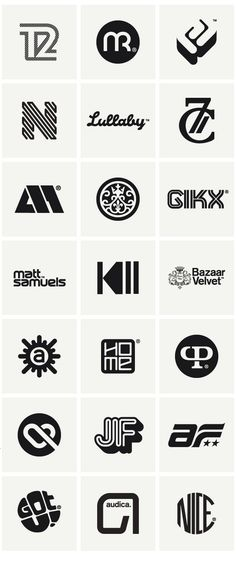 Logos & Marques 2010 on Behance