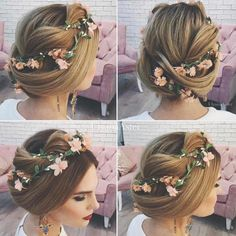 Ulyana Aster Wedding Hairstyles | Deer Pearl Flowers