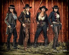 ~ This quartet aka Las Chicas Malas.  Best not to mess with 'em! ~