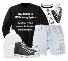 """◆BTS #16◆"" by xxbettyxx ❤ liked on Polyvore featuring moda, Ksubi, PB 0110, Converse, Charlotte Russe, 16 e btswithbetty"