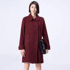 Casual Women Woolen Coat