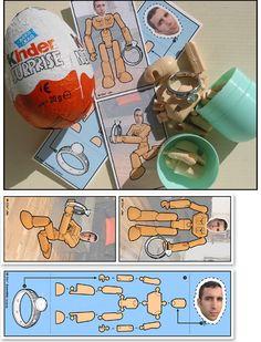 Kinder Surprise Egg Marriage Proposal