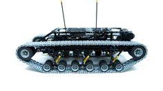 Lego Technic Motorized Ripsaw XL with custom tracks