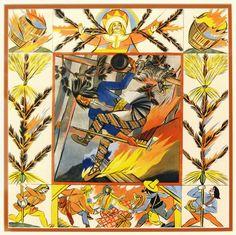 Midsummer in Polish art: Zofia Stryjeńska (1891-1976)