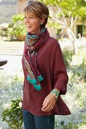 Cheyenne Shirt/ at softsurroundings