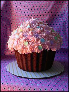 Giant Cupcake Idea