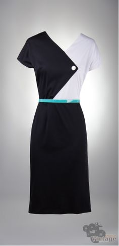 Vintage 60´s Harlequin Dress - Bichovintage - Vintage & Retro & Recycled - Clothing and Accesories - Online Store