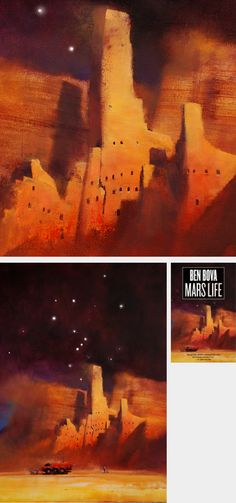 John Harris  - Mars Life (Book Cover Illustrator)