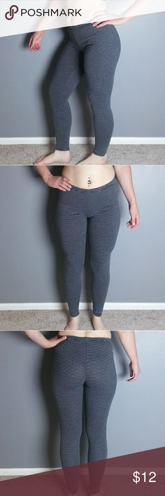 87b65323e3366 Xhileration striped leggings These stretchy, comfy leggings are in good  shape. No stretching,