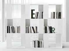 LINE K Bookcase by Zampieri Cucine design Stefano Cavazzana