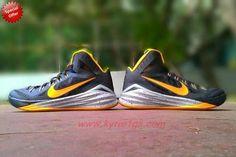 "719550-470 Dark blue / yellow Nike Hyperdunk 2014 ""Paul George"" PE On Sale 9GMRYY"