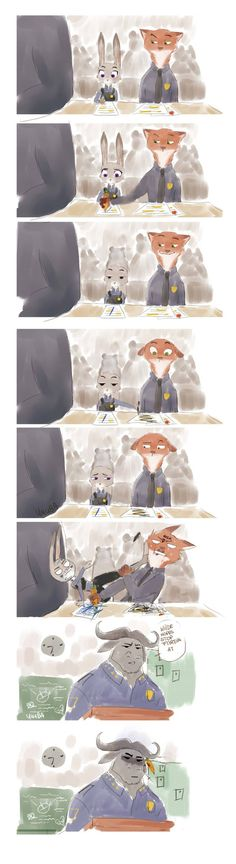 Judy and Nick Disney And Dreamworks, Disney Pixar, Walt Disney, Disney Marvel, Zootopia Comic, Zootopia Art, Belle Cosplay, Disney Magic, Disney Art