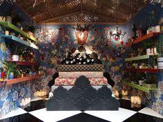 Corian Cabana Club: maximalist interiors at Milan Design Week - WGSN Insider Milan Design Week 2017, Maximalist Interior, Corian, Cabana, Maximalism, Christmas Tree, Texture, Holiday Decor, Pattern