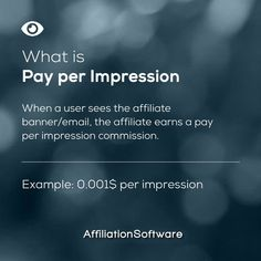 Do you like PAY PER IMPRESSIONS? 😍 - Follow us for more affiliate marketing tips Like & share ❤️ - Start your own Affiliate Network and boost your sales with AffiliationSoftware Link in bio 👆 - #affiliationsoftware #affiliatemarketing #affiliate #affiliateprogram #impressions #cpm #marketingdigital #marketing #technology Affiliate Marketing, Digital Marketing, Banner, Banner Stands, Banners