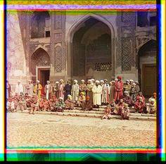 Na Registani︠e︡. Samarkand  El gran imperio ruso fotografiado en color de la Prokudin-Gorskii Collection de la librería del congreso en EU
