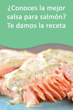 Salmon En Salsa, Salmon Recipes, Chicken Recipes, Easy Family Dinners, Good Healthy Recipes, Health And Nutrition, Food To Make, Seafood, Food And Drink