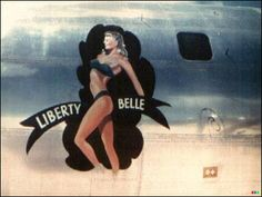 Aircraft Nose Art - Liberty Belle