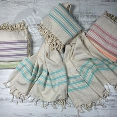 Did you know that you can use peshtemals as fashion accessories?   On the beach, at SPA & gym, at picnic, in bath, even as a scarf! Why not?