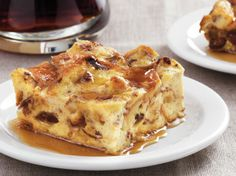 Cinnamon Breakfast Bread Pudding.