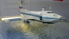 Russia Revives Production of Flarecraft - The model of  Orlyonok ekranoplan