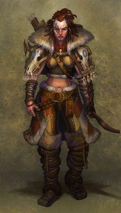 The Huntress by jubjubjedi.deviantart.com on @deviantART