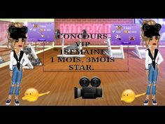 CONCOURS  |VIP STAR 3 MOIS,1MOIS, 1SEMAINE. |