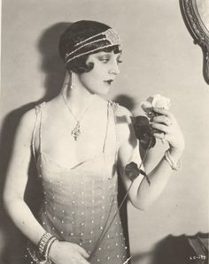 "Alma Bennett in ""The Silent Lover"" (1926)"