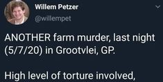 Female victim shot and killed, husband beaten to a pulp by farm attackers Provinces Of South Africa, Beats, It Hurts, Husband, Female