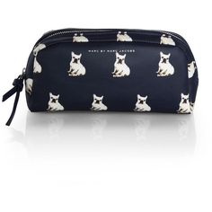 Marc by Marc Jacobs Lardge Printed Nylon Cosmetic Pouch found on Polyvore Every girl has to have one of these!!