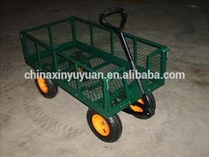 Factory Supplied Garden Handcart metal cart