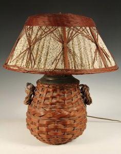 weaver dark brown woven wicker outdoor table lamp 16174544
