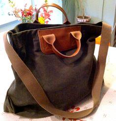 madewell bag | Hunted For: Madewell Canvas and Leather Bag -