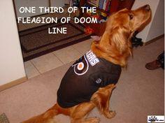 Philadelphia Flyers dog (spawty)