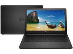 "Notebook Dell Inspiron i15-5566-D10P Intel Core i3 - 4GB 1TB LED 15,6"" Linux"