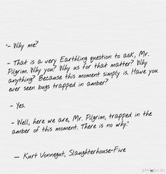 slaughterhouse five everything was beautiful and nothing hurt  kurt vonnegut slaughterhouse five