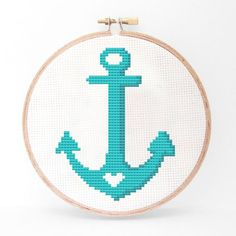 Anchor Cross Stitch Kit, $18, now featured on Fab.