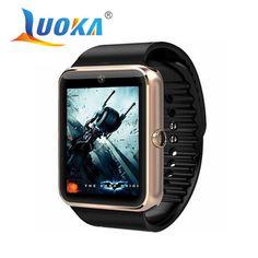 뜨거운 판매 gt08 블루투스 smart watch 안드로이드 스마트 워치 sim 카드 피트니스 apple ios 안드로이드 전화 pk u8 dz09 gd19 gv18
