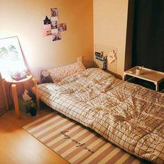 원룸의 45도 얼짱 각도#모서리를기준으로#사알짝숙여주시면됩니다.@yeonji0205yz 님네🏡 Interior Exterior, Room Interior, Interior Design, Dream Rooms, Dream Bedroom, Minimalist Room, Cozy Room, House Rooms, Room Inspiration