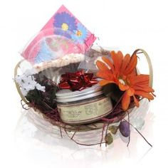 gift basket - happy birthday
