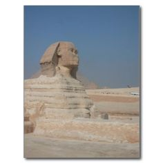 Ancient Sphinx in Egypt Post Card