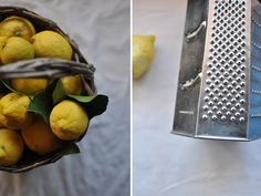Just the ingredient, but boy what you can do with really zingy fresh Sicilian lemons!