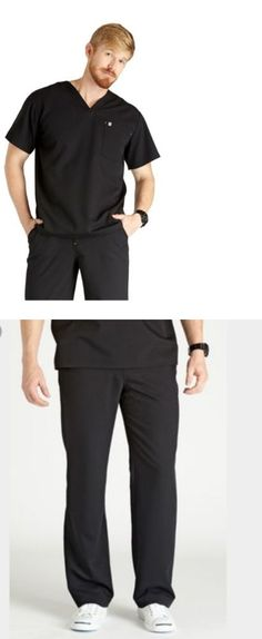 Sets 105432: New Figs Xl Black Scrubs Uniform Set For Medical And Dental Professionals. -> BUY IT NOW ONLY: $52.99 on eBay!