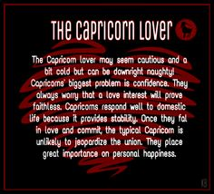 Capricorn Lover: very true! Capricorn And Cancer, Capricorn And Taurus, Capricorn Quotes, Zodiac Signs Capricorn, Zodiac Sign Facts, My Zodiac Sign, Capricorn Men In Love, Capricorn Compatibility, Zodiac Quotes