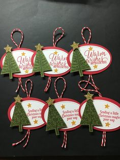 Excited to share this item from my shop: Christmas Gift Tags handmade Christmas Tree Gift tags Tags Handmade Holiday Christmas Christmas Tree Gift Tags Christmas Tags Handmade Christmas Tree, Christmas Tree With Gifts, Holiday Gift Tags, Green Christmas, Christmas Wrapping, Stampin Up Christmas, Christmas Cards, Etsy Christmas, Handmade Gift Tags